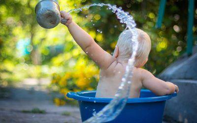 Revisamos las 3 bañeras de moda para tu bebé