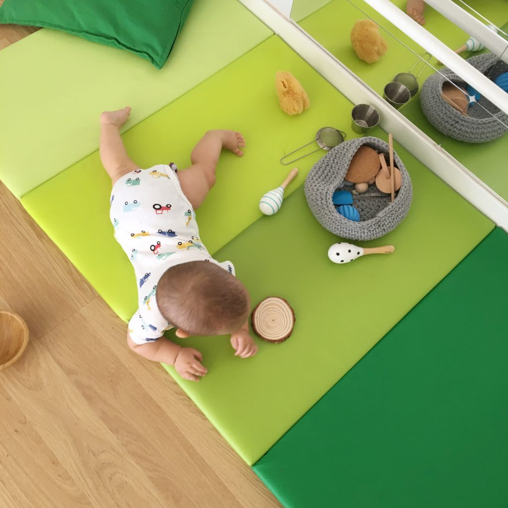 Cesto tesoros Montessori