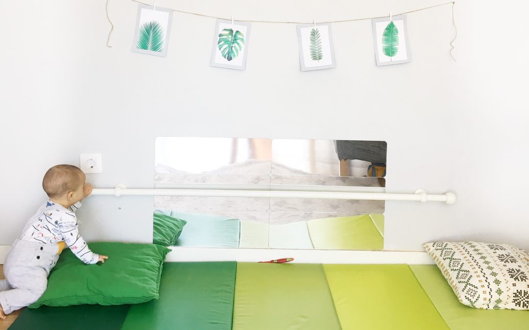 Cómo crear tu espacio Montessori y movimiento libre en casa